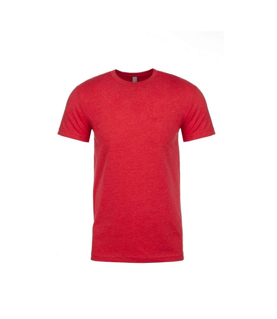 Next Level Adults Unisex CVC Crew Neck T-Shirt (Red) - UTPC3480