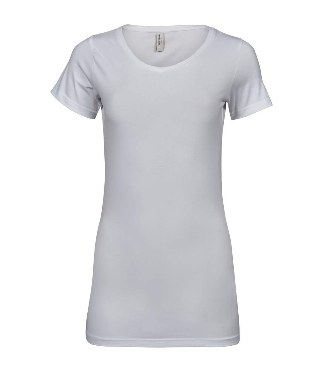Tee Jays - T-Shirt Fashion - Femme (Blanc) - UTPC3418