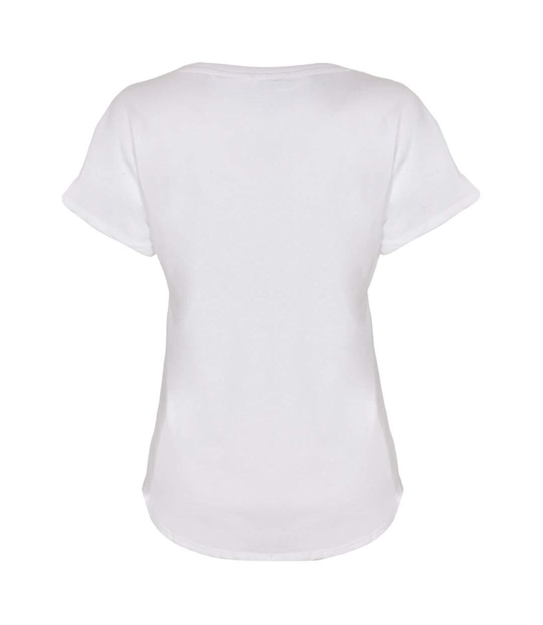 Next Level - T-Shirt Dolman - Femme (Blanc) - UTPC3475