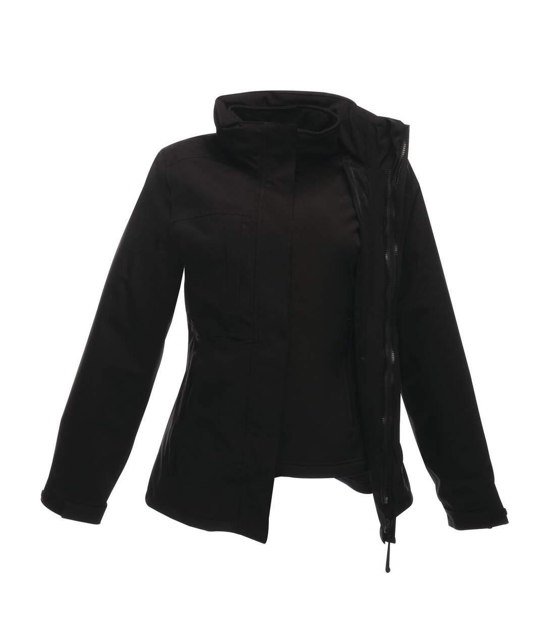 Regatta Professional Mens Kingsley 3-in-1 Waterproof Jacket (Black) - UTRG2174