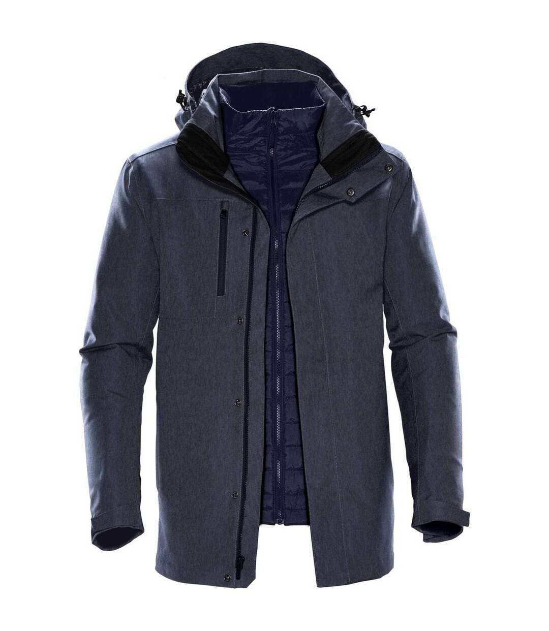 Stormtech Mens Avalanche System Jacket (Charcoal Twill) - UTBC4117