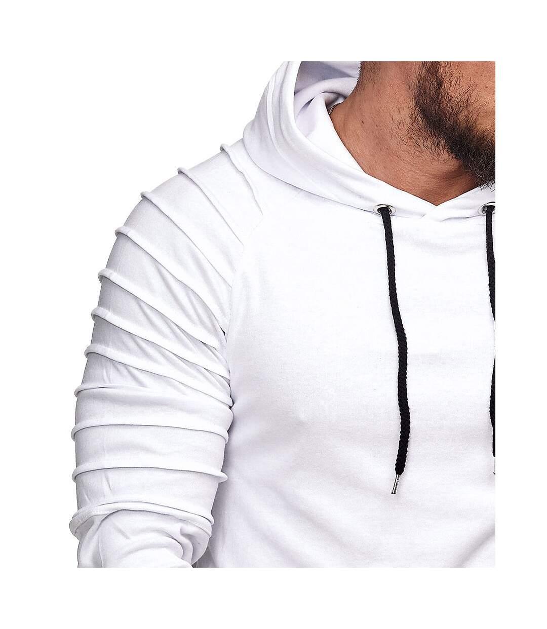 Sweat à capuche homme Sweat 1072 blanc