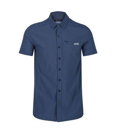 Regatta Mens Kioga II Shirt (Dark Denim) - UTRG5060