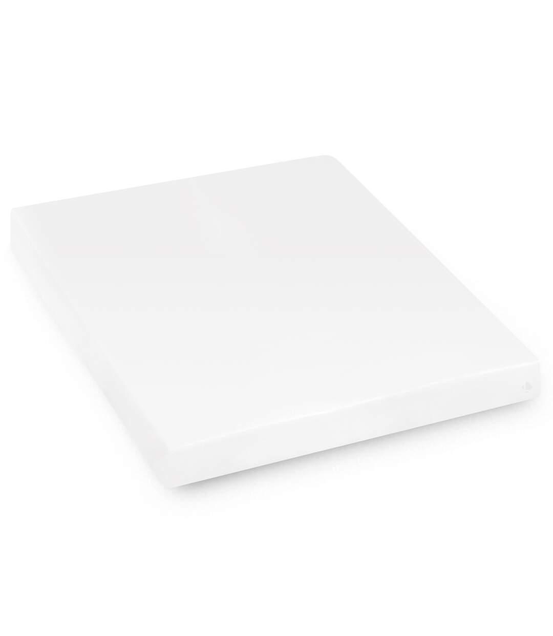 Protège matelas imperméable 210x210 cm bonnet 40cm ARNON molleton 100% coton contrecollé polyuréthane