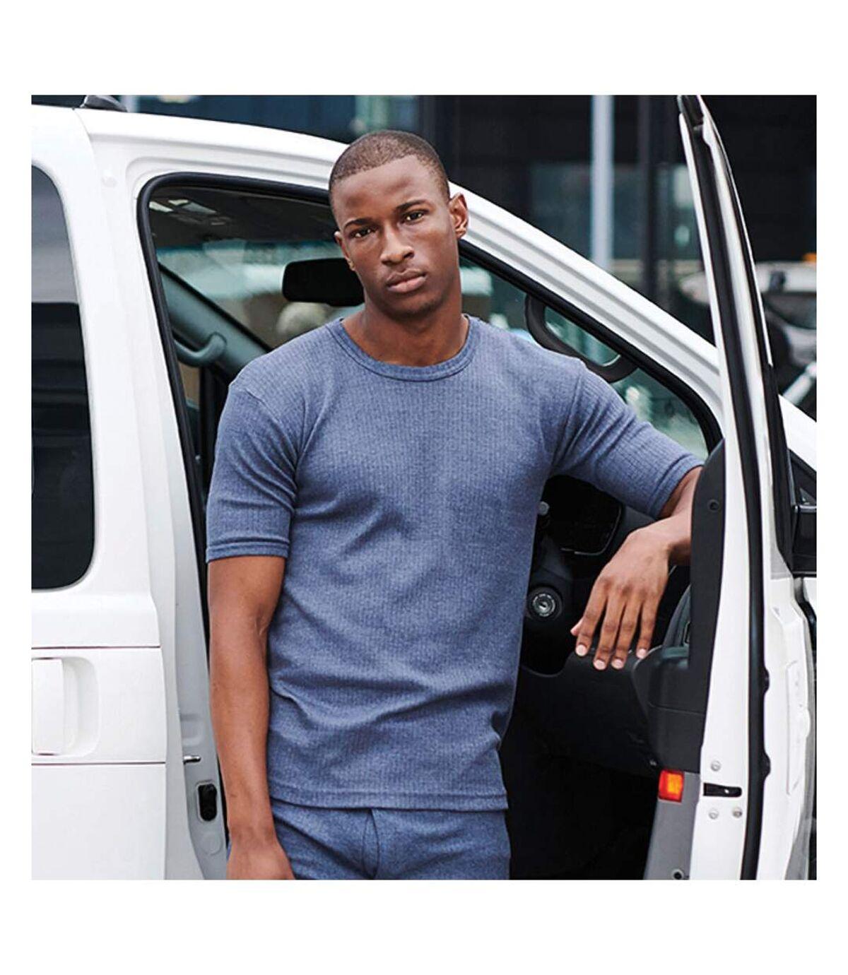 Regatta - T-shirt thermique à manche courtes - Homme (Denim) - UTRW1258