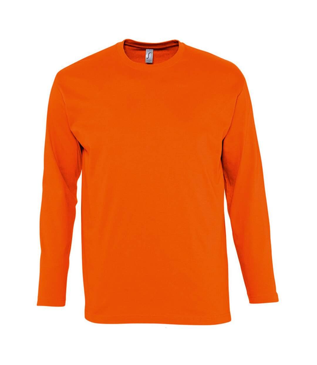 SOLS Monarch - T-shirt à manches longues - Homme (Orange) - UTPC313