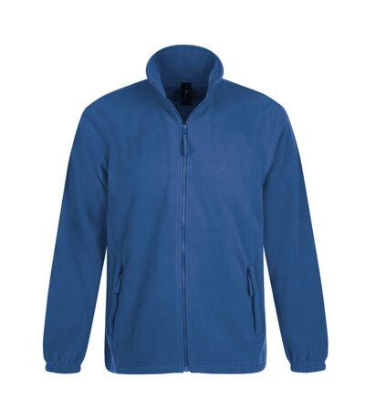 SOLS Mens North Full Zip Outdoor Fleece Jacket (Royal Blue) - UTPC343