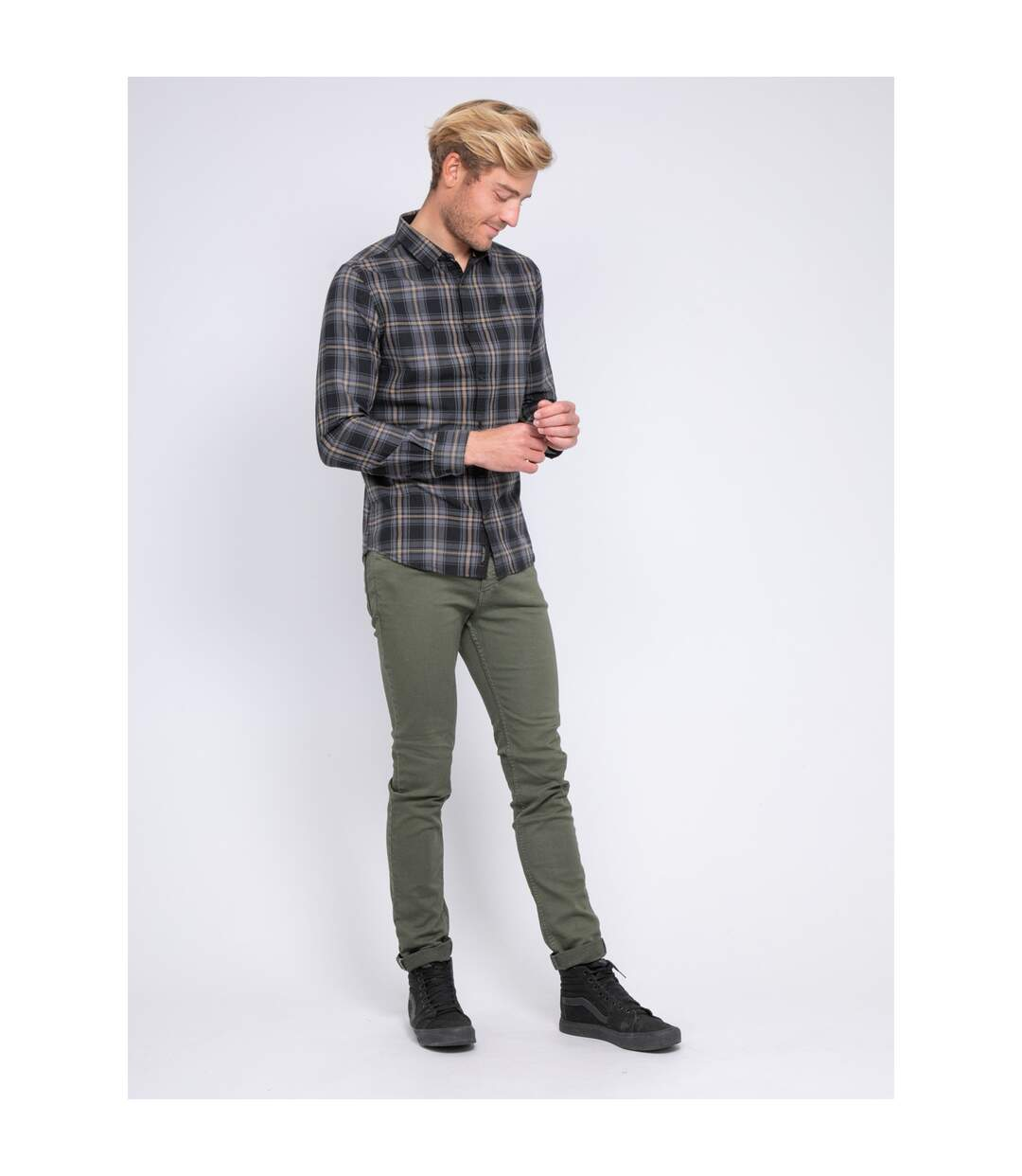 Chemise manches longues carreaux TONKA - RITCHIE