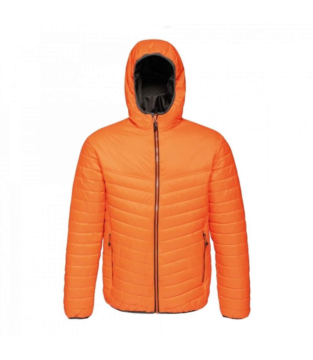 Regatta Mens Acadia II Hooded Jacket (Graphite Black) - UTRG3745