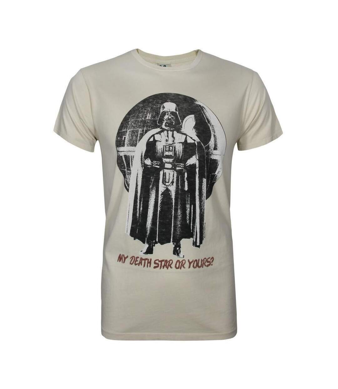 Junk Food Mens My Death Star Or Yours Star Wars T-Shirt (White) - UTNS5577
