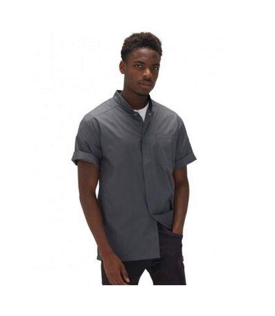 Le Chef Mens Lightweight Shirt (Storm Grey/Black) - UTPC3078