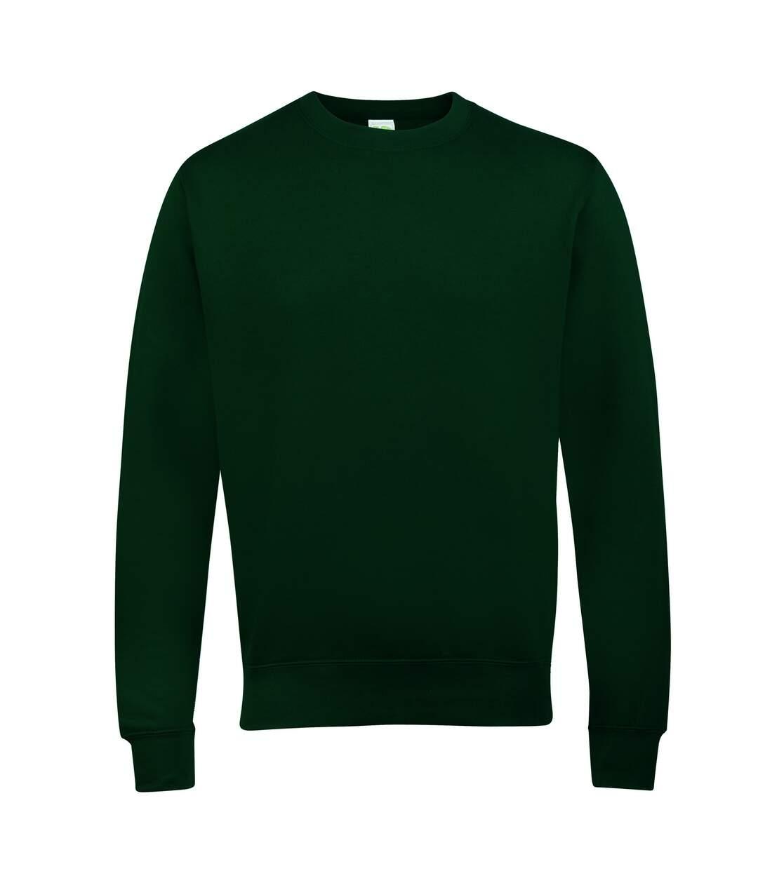 AWDis Just Hoods AWDis Unisex Crew Neck Plain Sweatshirt (280 GSM) (Orange Crush) - UTRW2014