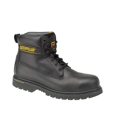 Caterpillar Holton SB Safety Boot / Mens Boots / Boots Safety (Black) - UTFS923