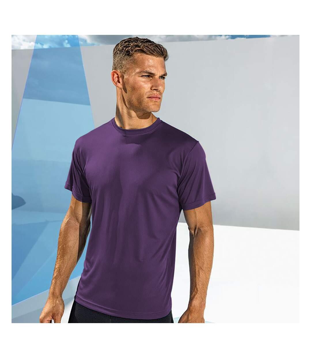 Tri Dri Mens Short Sleeve Lightweight Fitness T-Shirt (Orange) - UTRW4798