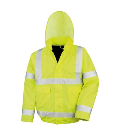 Result Core High-Viz Winter Blouson Jacket (Waterproof & Windproof) (Pack of 2) (HI-Viz Yellow) - UTRW6881