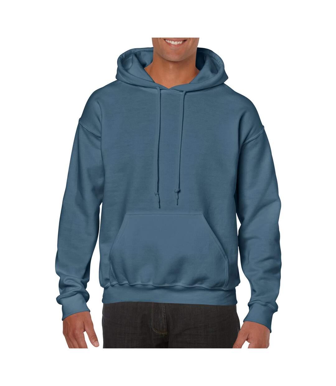 Gildan Heavy Blend Adult Unisex Hooded Sweatshirt / Hoodie (Light Pink) - UTBC468