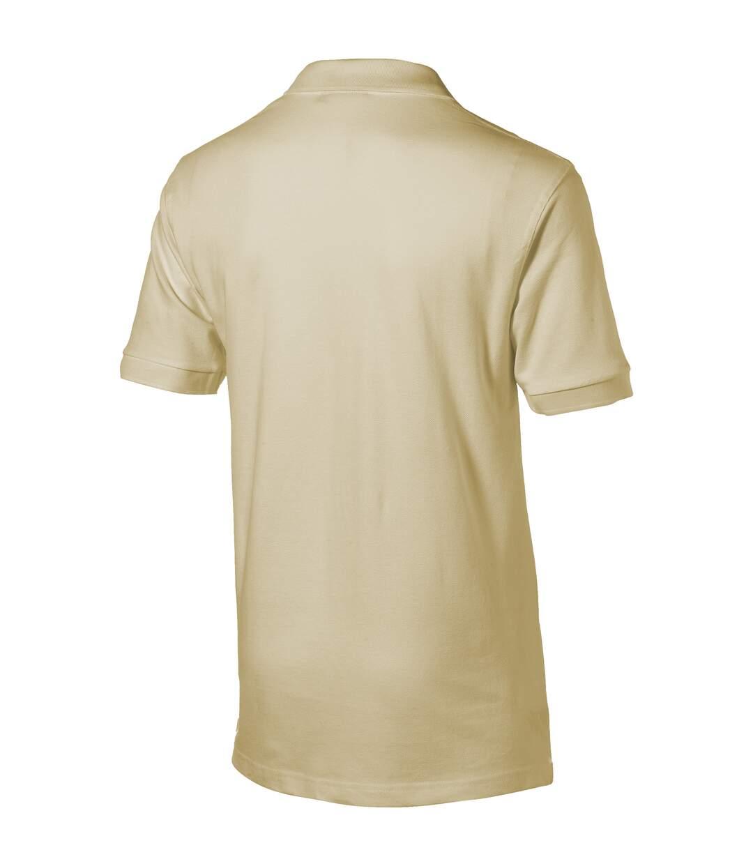 Slazenger Mens Forehand Short Sleeve Polo (Khaki) - UTPF1800