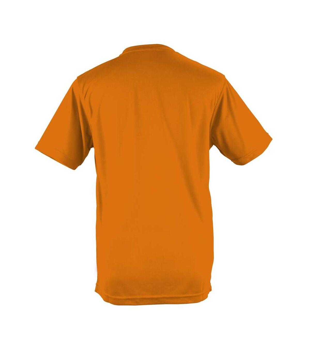 AWDis Just Cool Mens Performance Plain T-Shirt (Orange Crush) - UTRW683