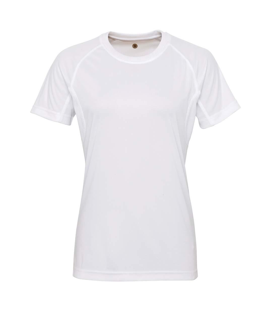 Tri Dri - T-Shirt À Manches Courtes - Femme (Blanc) - UTRW4852