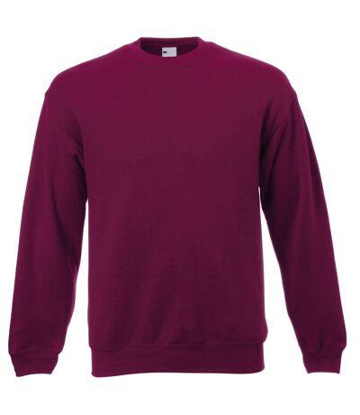 Mens Jersey Sweater (Oxblood) - UTBC3903