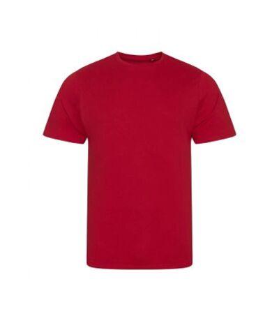 Ecologie Mens Organic Cascades T-Shirt (Fire Red) - UTPC3190