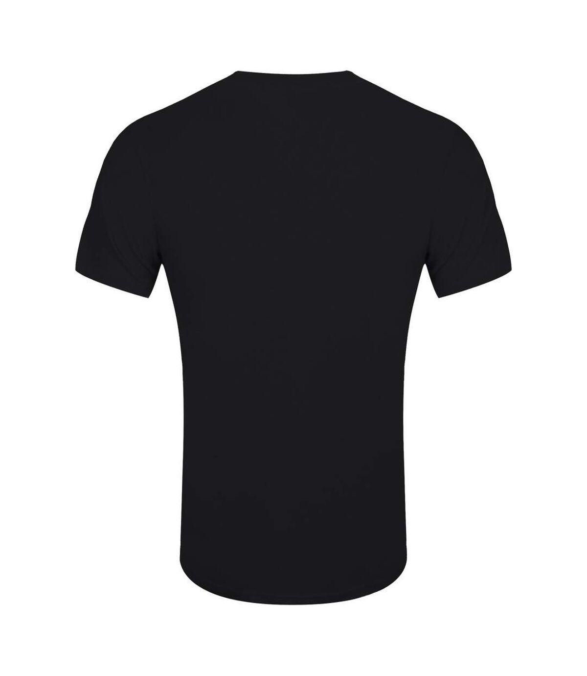 Grindstore Mens Pretty Sus! T-Shirt (Black/Red/Purple) - UTGR4840