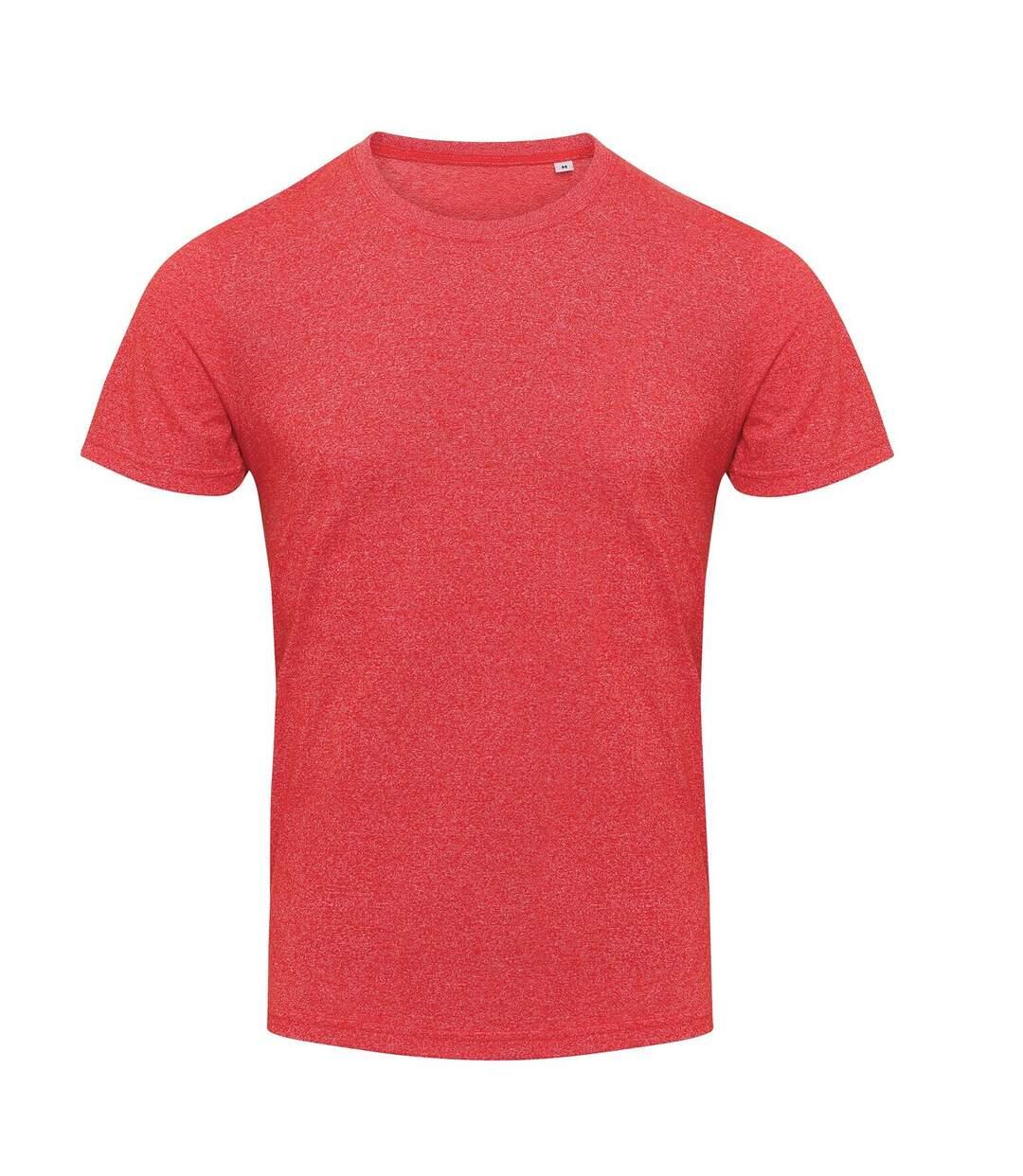 AWDis Mens Space Blend T Shirt (Space Red/White) - UTPC2897