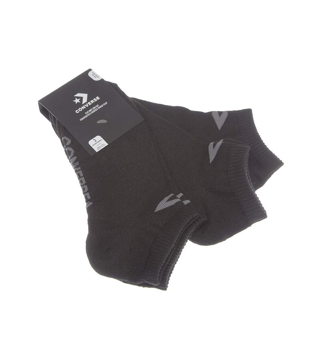 Dégagement Chaussette Socquettes Lot de 3 Coutures plates Noir Chaussette Sneaker lot de 3 homme dsf.d455nksdKLFHG