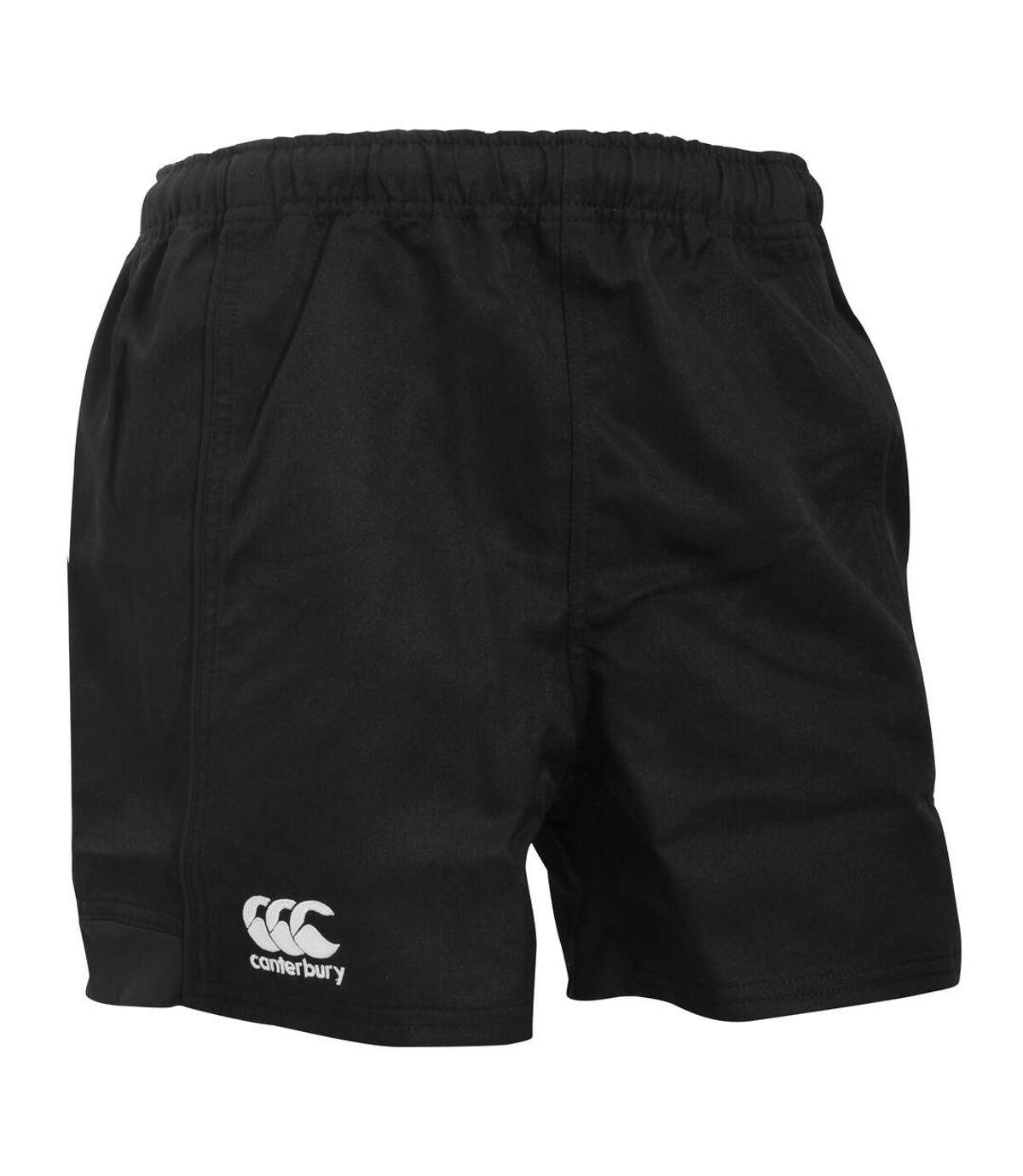 Canterbury Mens Advantage Elasticated Sports Shorts (Black) - UTPC2494