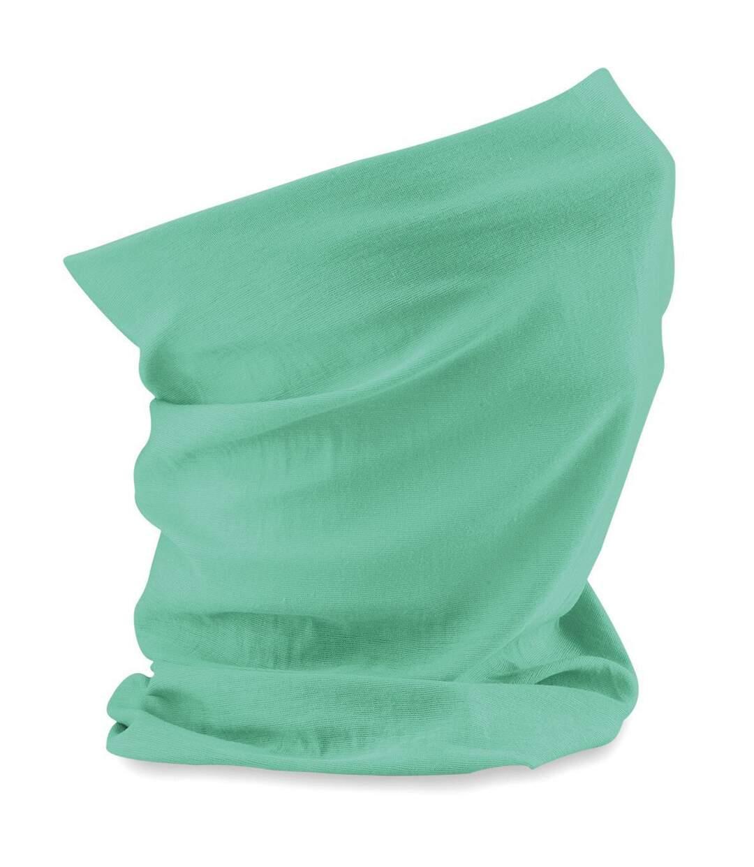 Echarpe tubulaire - tour de cou adulte - B900 - vert menthe