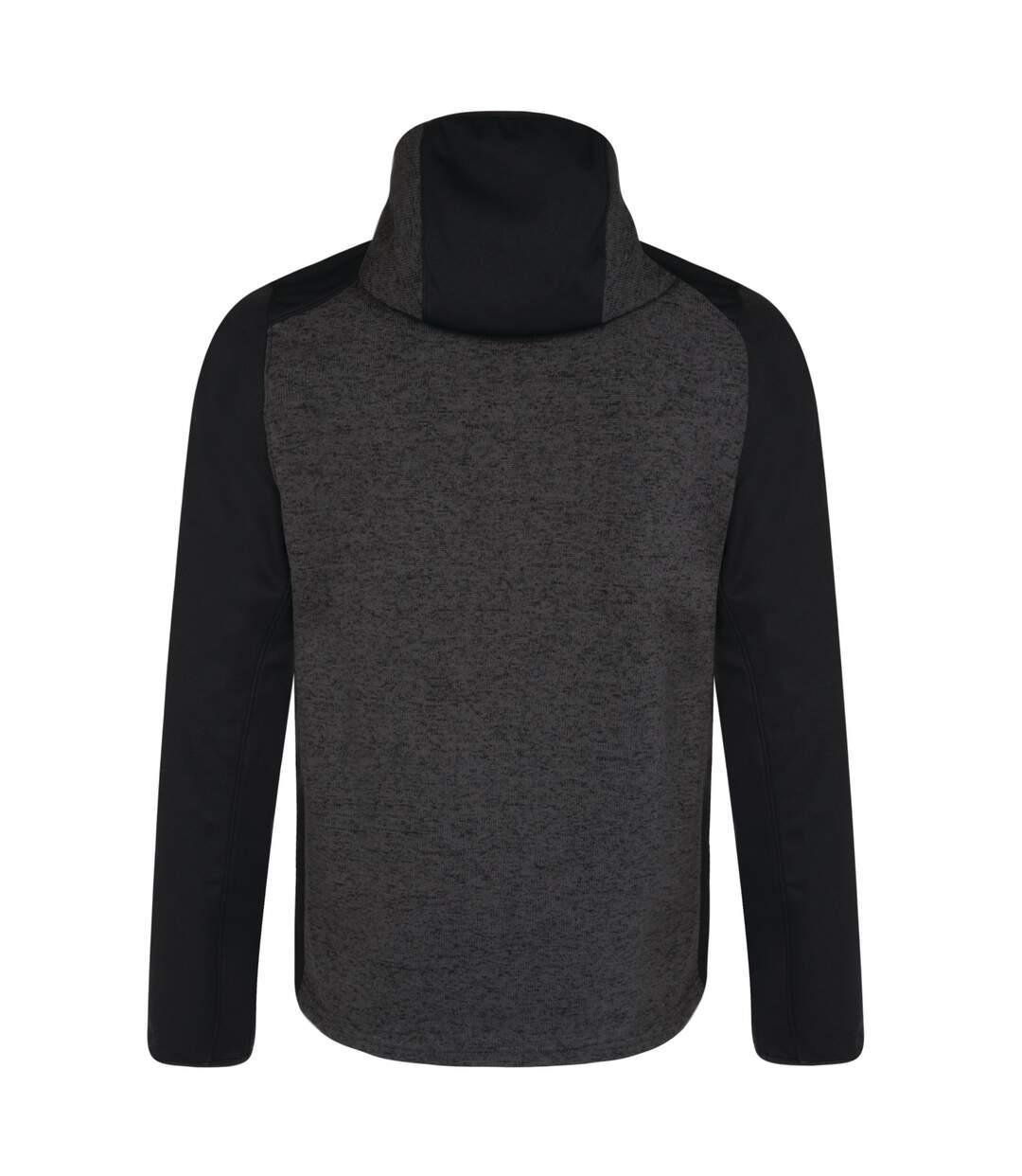 Dare 2B - Veste Softshell Hybride Igneous - Homme (Gris foncé/noir) - UTRG3907
