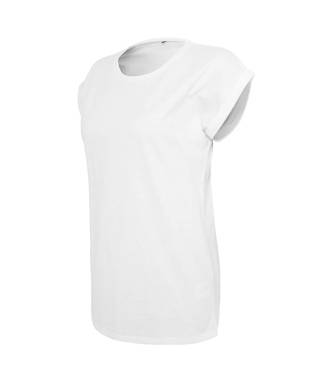 Build Your Brand - T-Shirt - Femme (Blanc) - UTRW5675