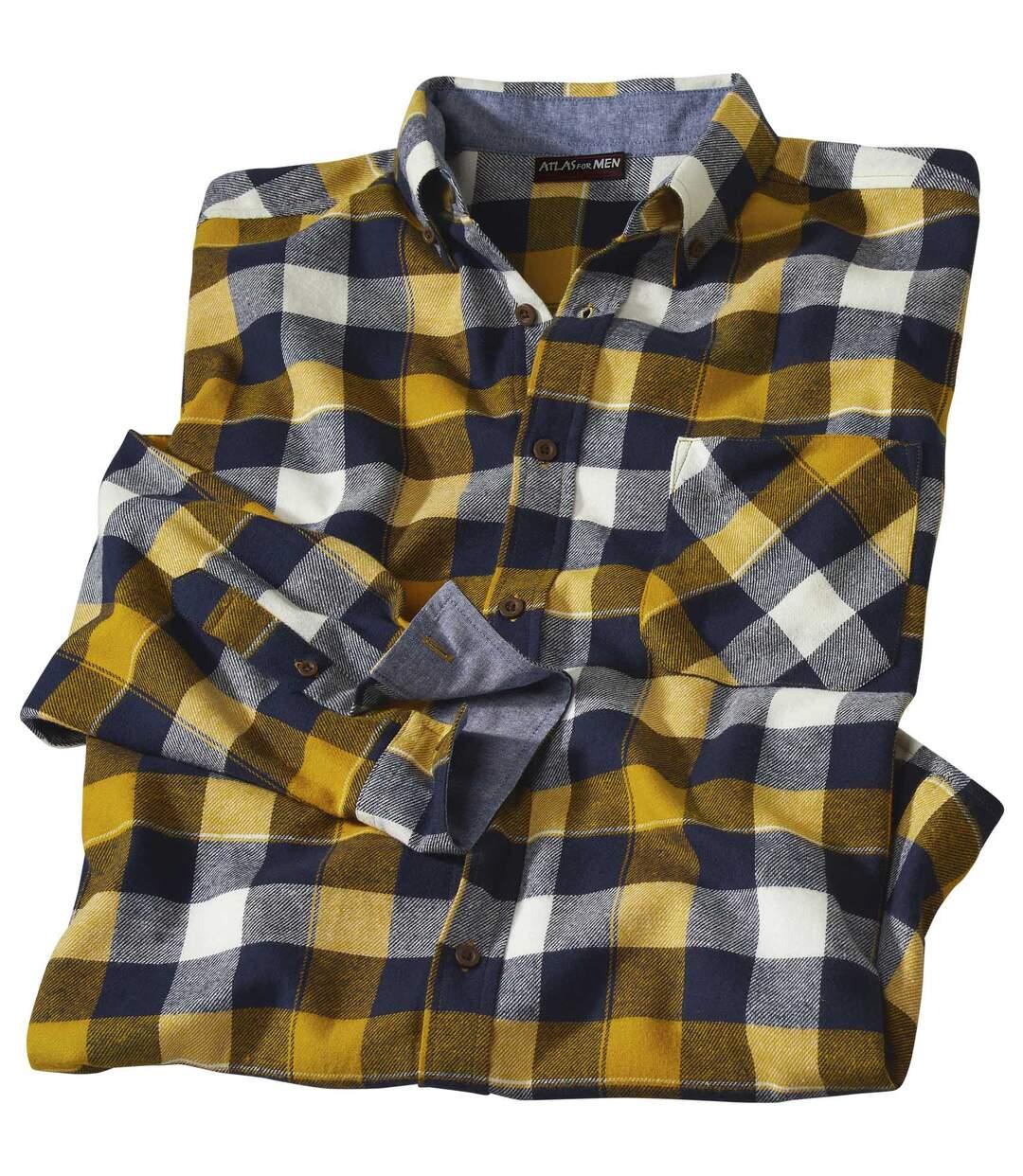 Flanelová kockovaná košeľa Chambray