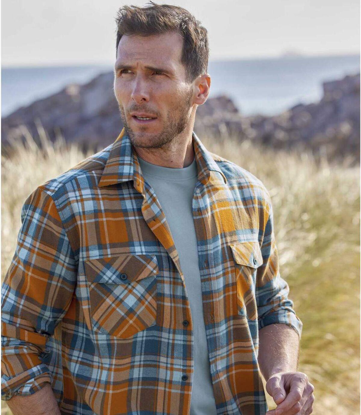 Flanellhemd Schottland Atlas For Men