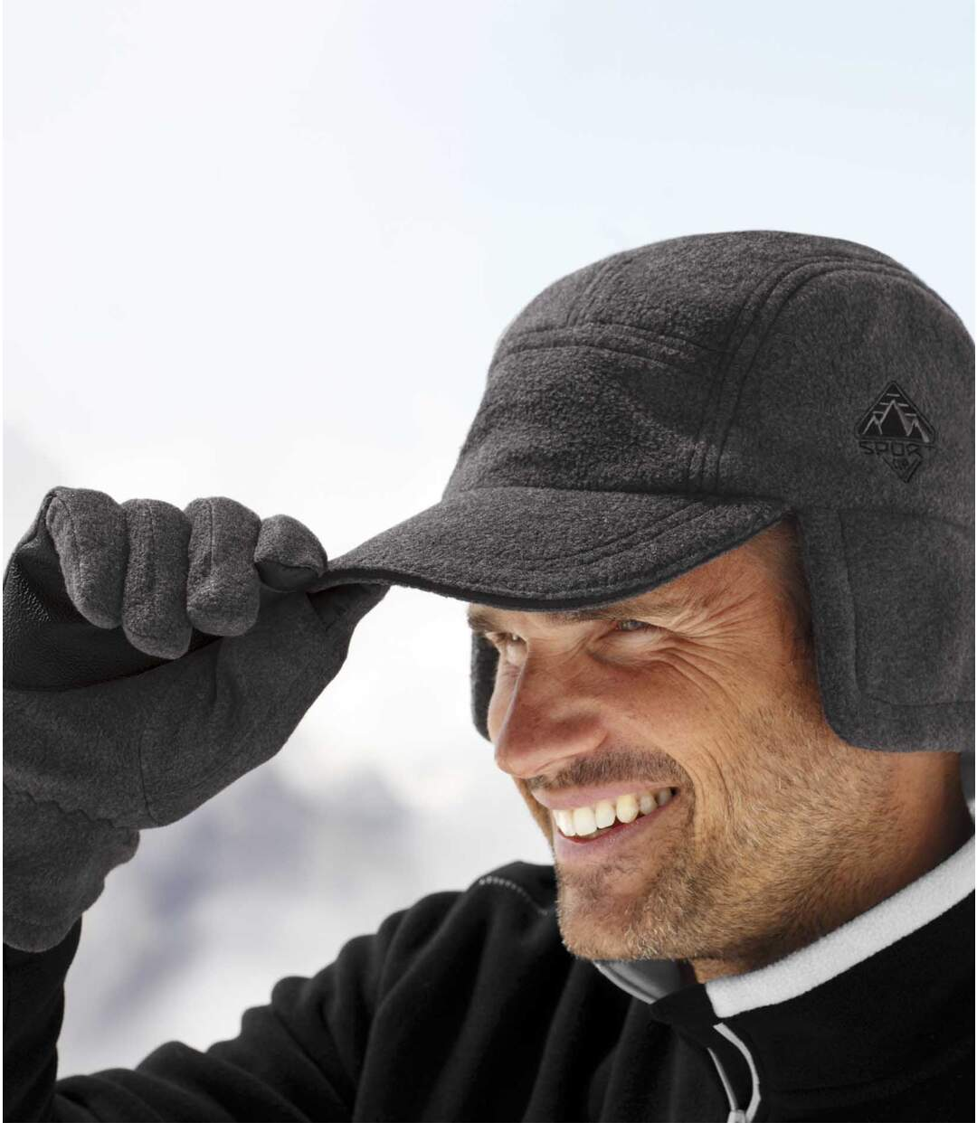 Die Thermo-Mütze aus Fleece