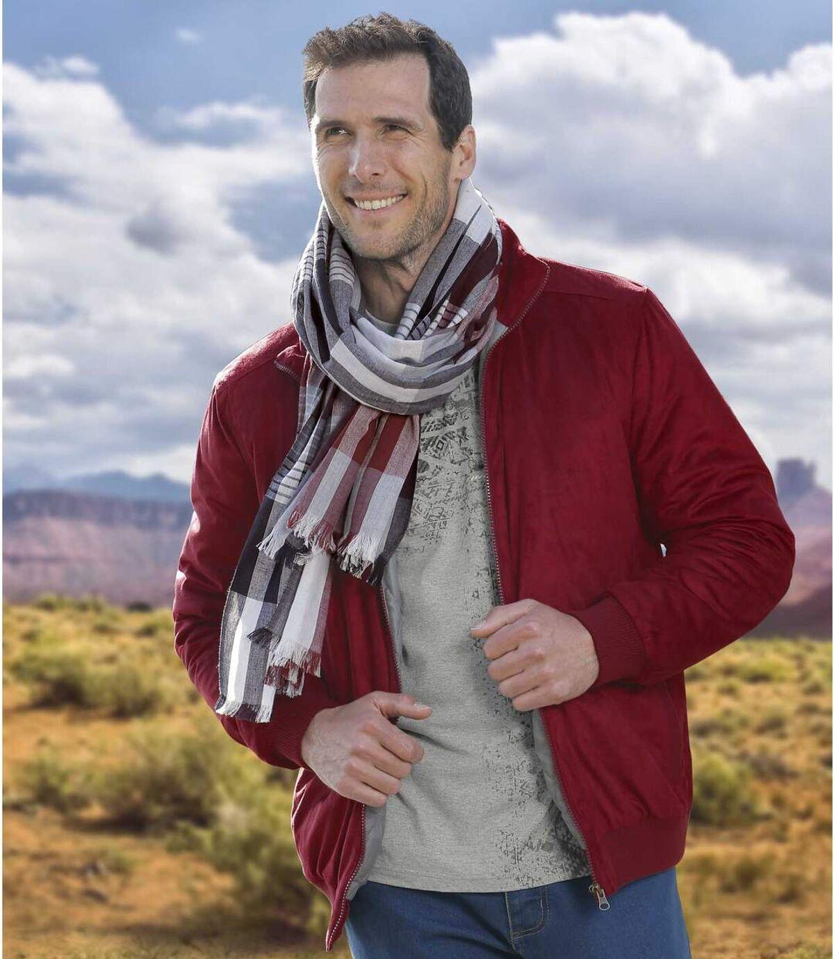 Jacke in Wildlederoptik für die Übergangssaison Atlas For Men