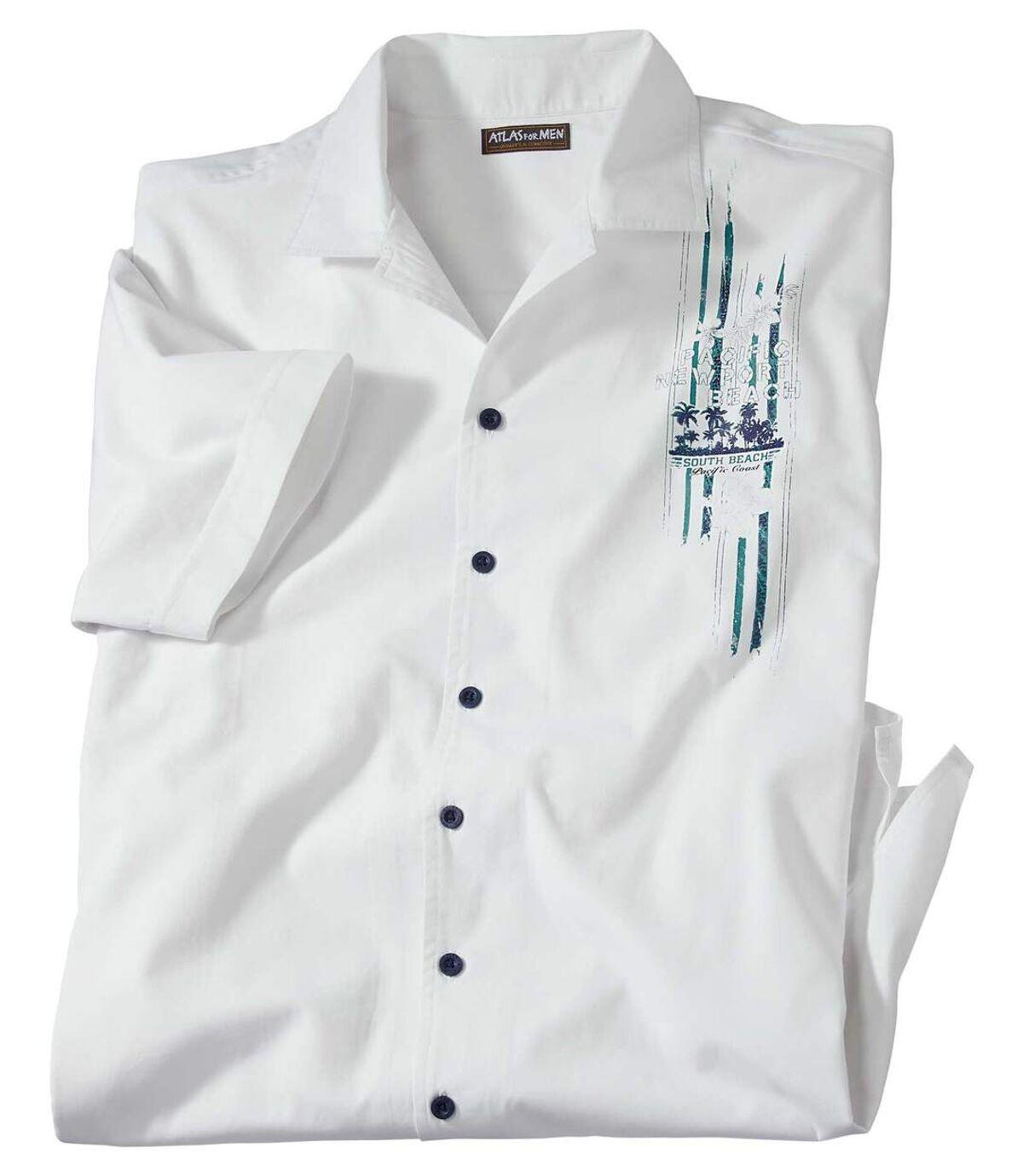 Biała koszula Beach Line Atlas For Men