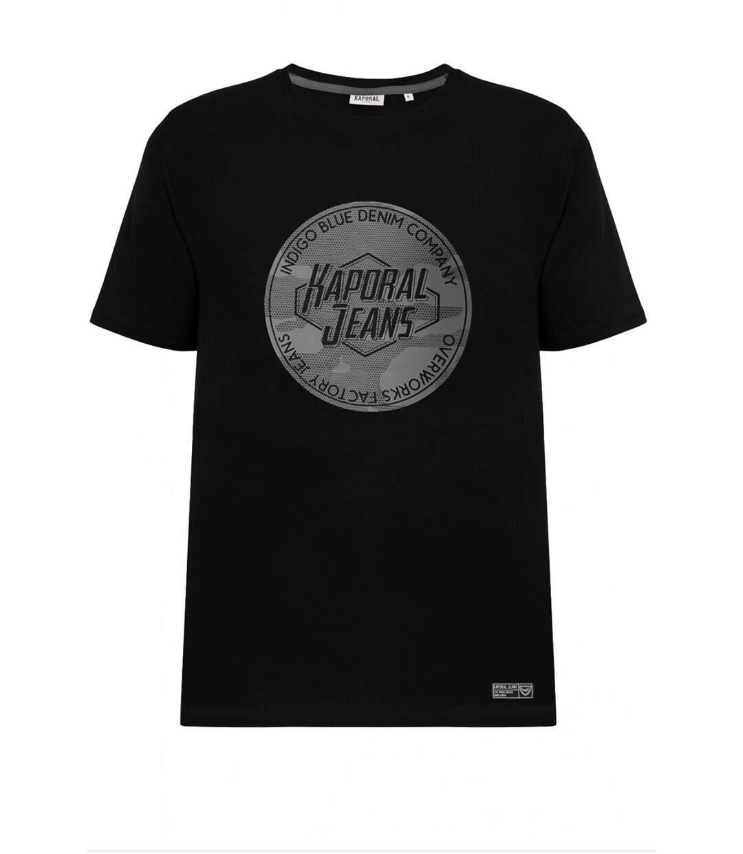 Tee shirt coton à logo printé  -  Kaporal - Homme