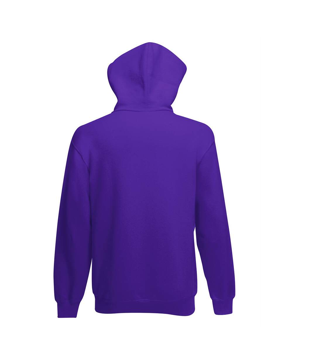 Fruit Of The Loom Mens Hooded Sweatshirt / Hoodie (Bottle Green) - UTBC366