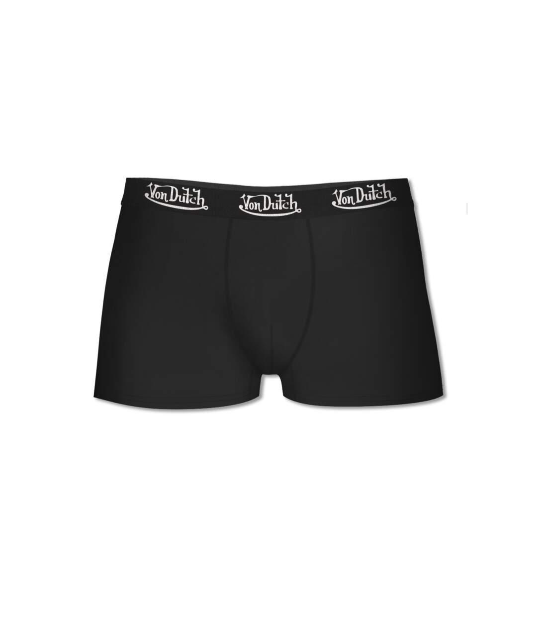 Lot de 4 boxers Homme Von Dutch Noir