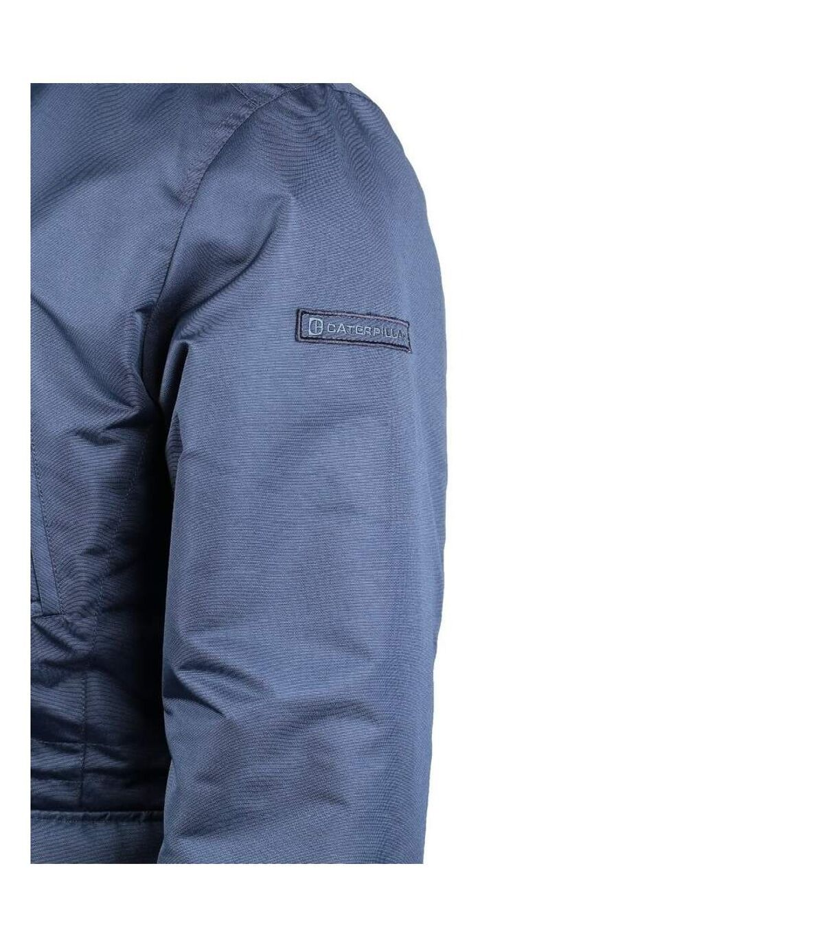 CAT Lifestyle Mens Utica Removable Hood Windproof Jacket (Blue) - UTFS4038