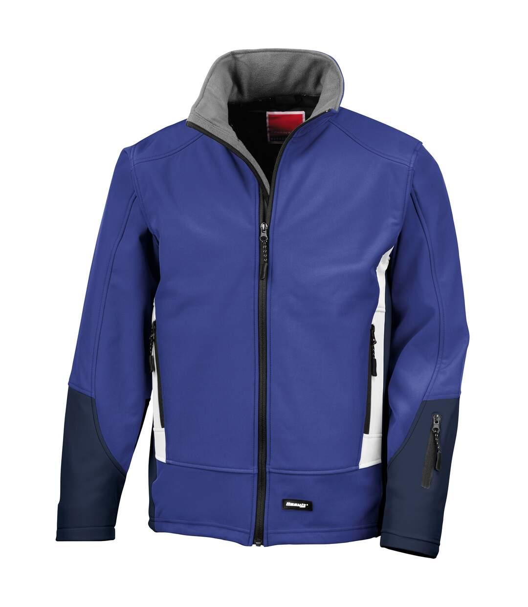 Result Blade - Veste Softshell Hydrofuge Et Coupe-Vent - Homme (Bleu roi) - UTRW3210