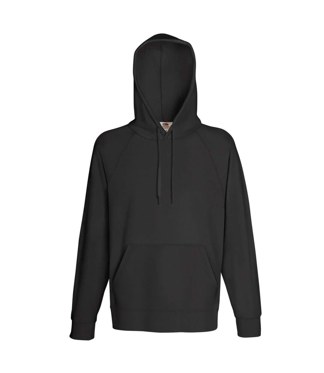 Fruit Of The Loom Mens Lightweight Hooded Sweatshirt / Hoodie (240 GSM) (Light Graphite) - UTBC2654