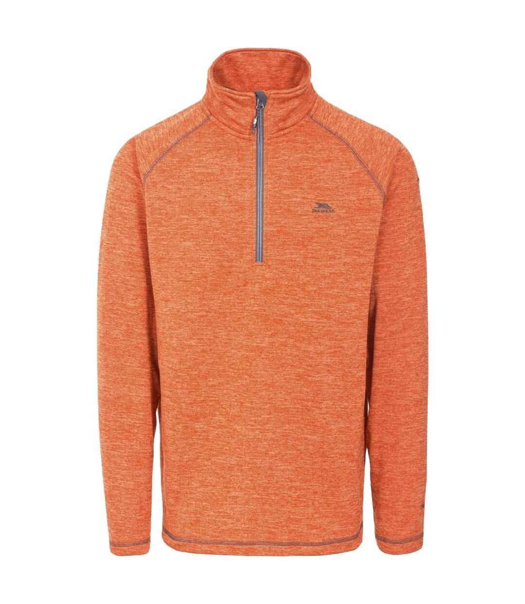 Trespass Mens Bungy Fleece (Burnt Orange Marl) - UTTP4061
