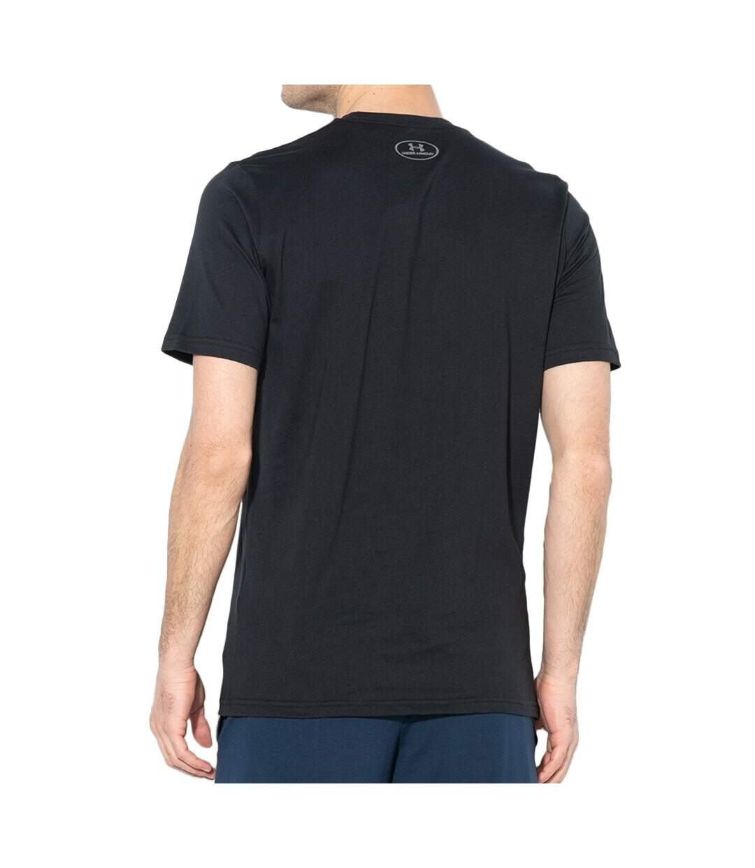 T-shirt Noir Homme Under Armour Fast Left Chest