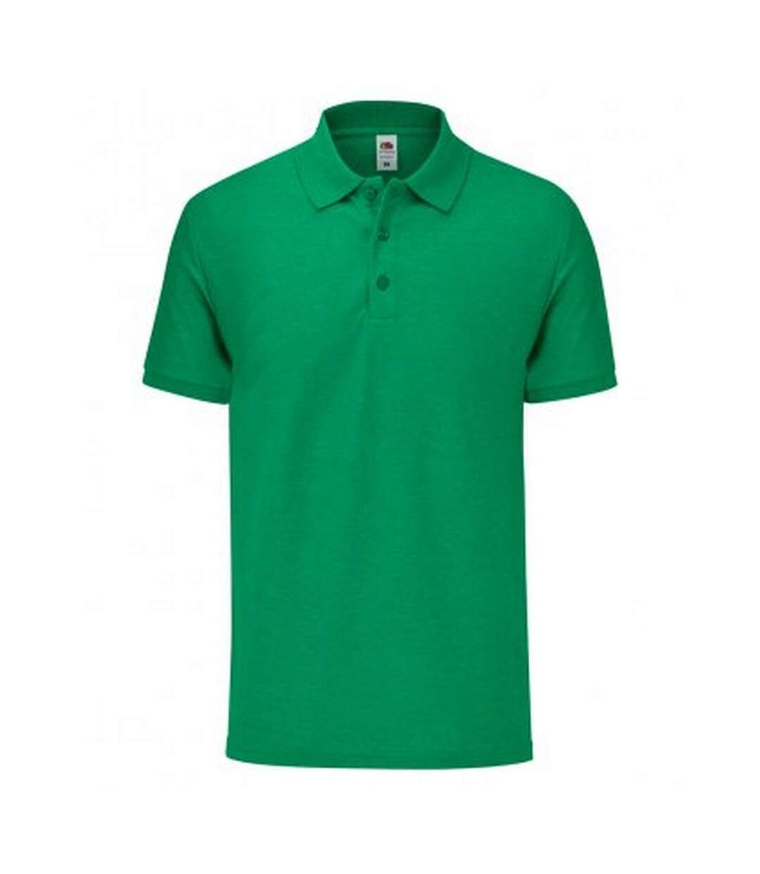 Fruit Of The Loom Mens Tailored Poly/Cotton Piqu Polo Shirt (Heather Green) - UTPC3572