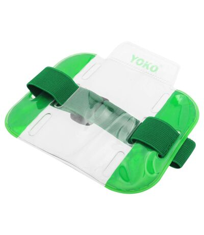 Yoko ID Armbands / Accessories (Pack Of 4) (Floro Green) (One Size) - UTBC4156