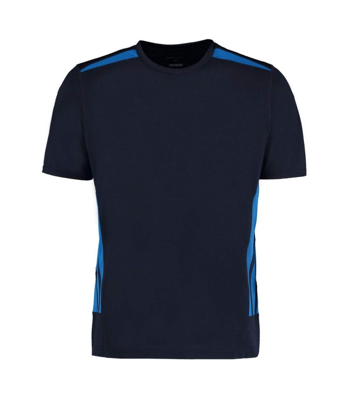Gamegear® Mens Cooltex Short Sleeve Training T-Shirt (Navy/Electric Blue) - UTBC417