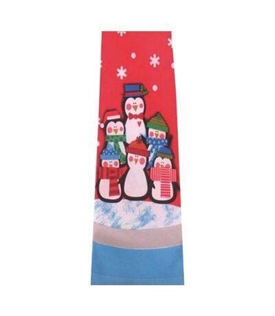 Christmas Shop Mens Musical Christmas Tie (Penguin) (One Size) - UTRW6388
