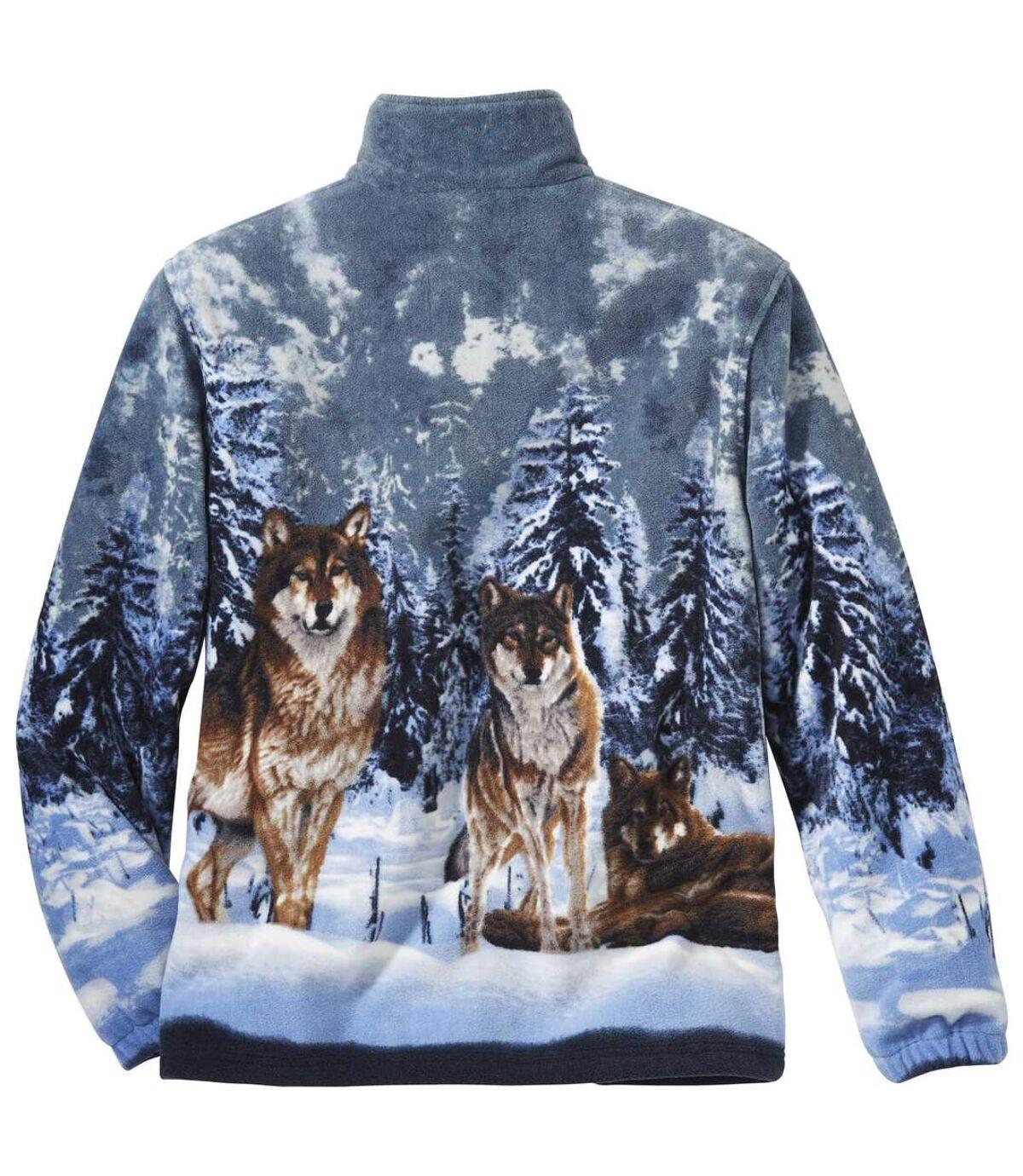 Polarowa bluza Wilki Atlas For Men
